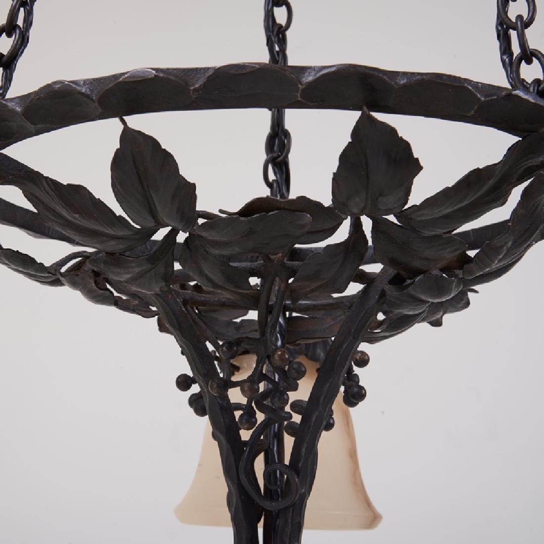 PAUL KISS Art Deco chandelier - 5