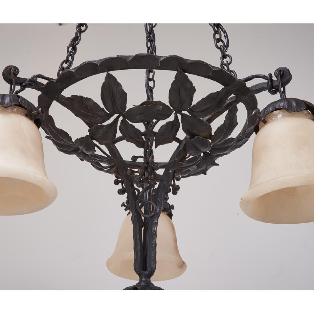 PAUL KISS Art Deco chandelier - 9