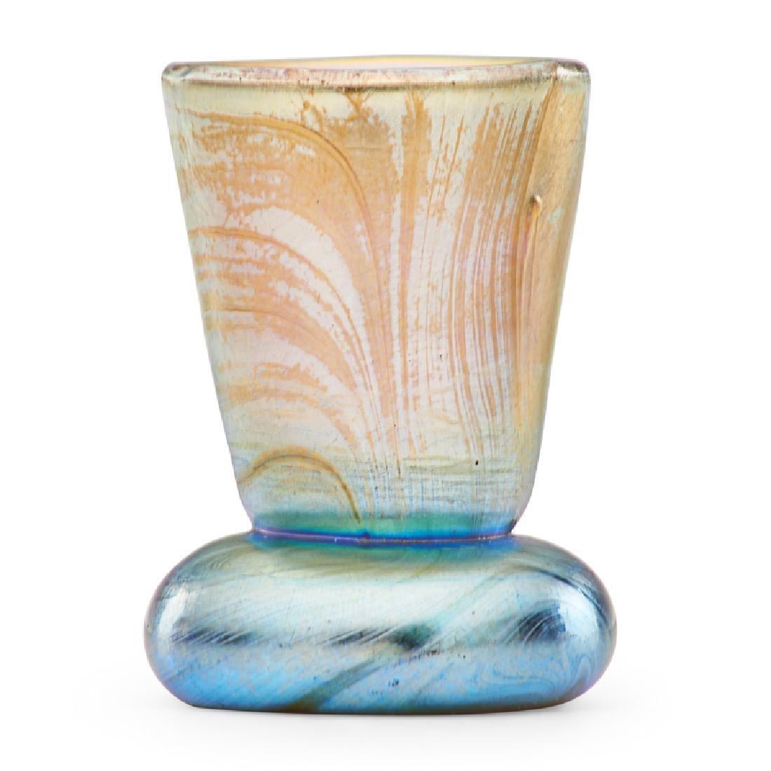 TIFFANY STUDIOS Miniature Favrile vase - 2