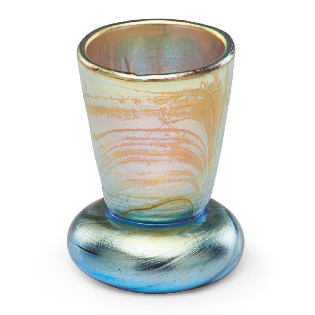 TIFFANY STUDIOS Miniature Favrile vase - 3