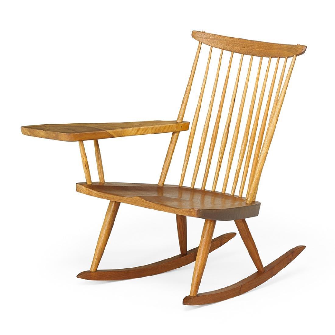 GEORGE NAKASHIMA Lounge Chair Rocker with Arm
