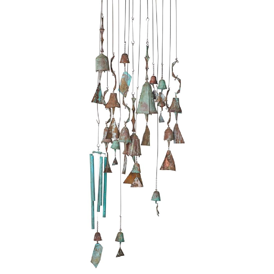 PAOLO SOLERI Collection of hanging bells