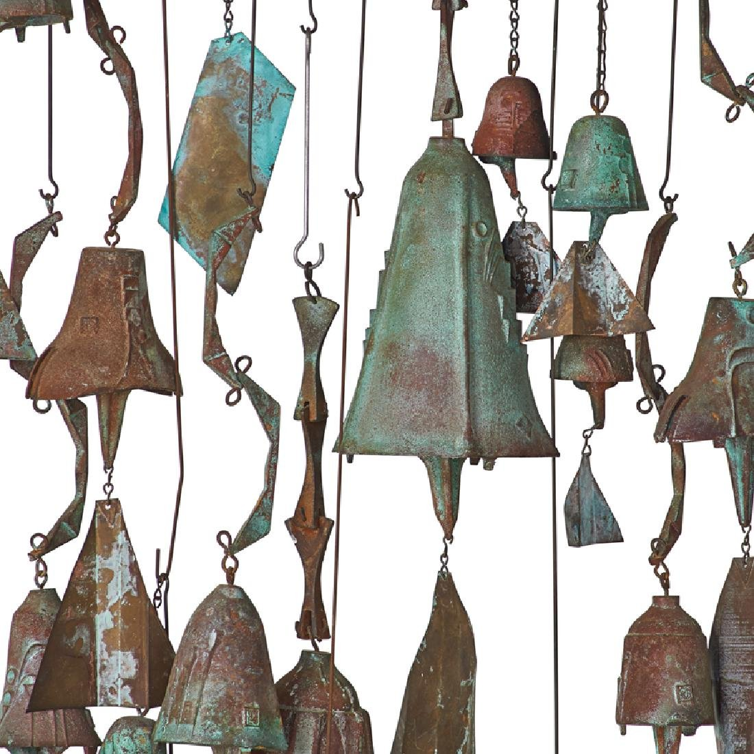 PAOLO SOLERI Collection of hanging bells - 2
