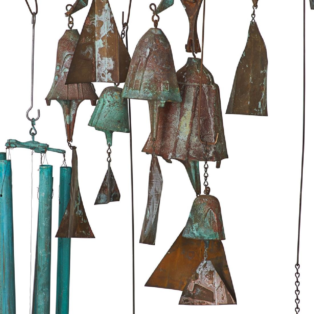 PAOLO SOLERI Collection of hanging bells - 3