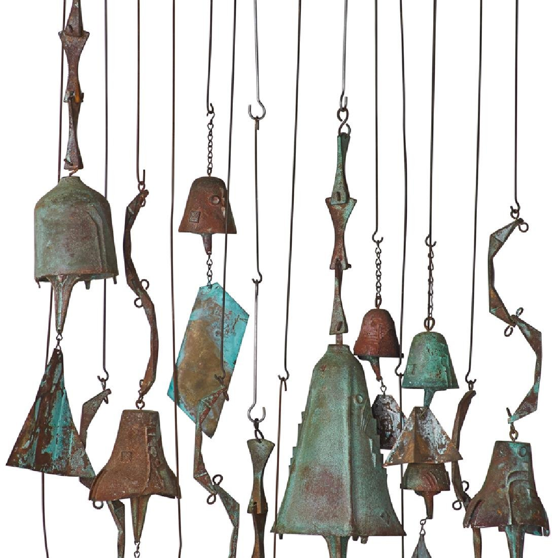 PAOLO SOLERI Collection of hanging bells - 4