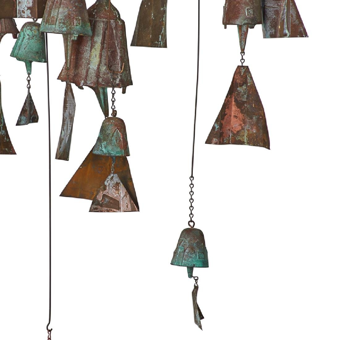PAOLO SOLERI Collection of hanging bells - 5