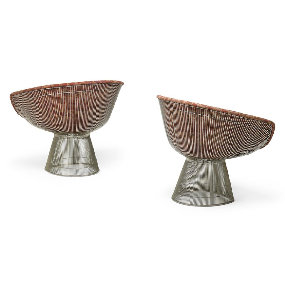 WARREN PLATNER Pair of lounge chairs - 2