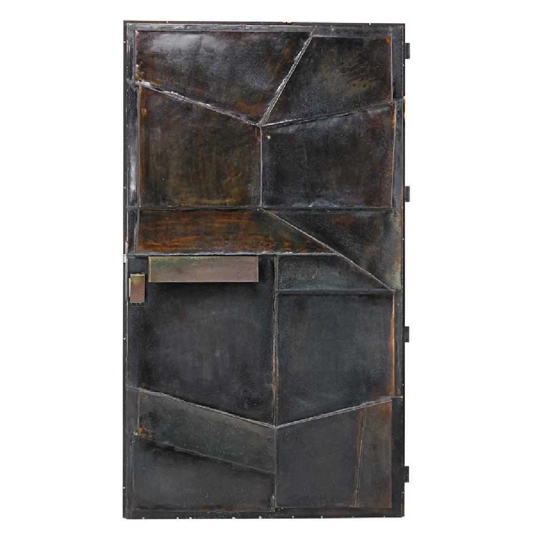 GERMAN Brutalist-style door