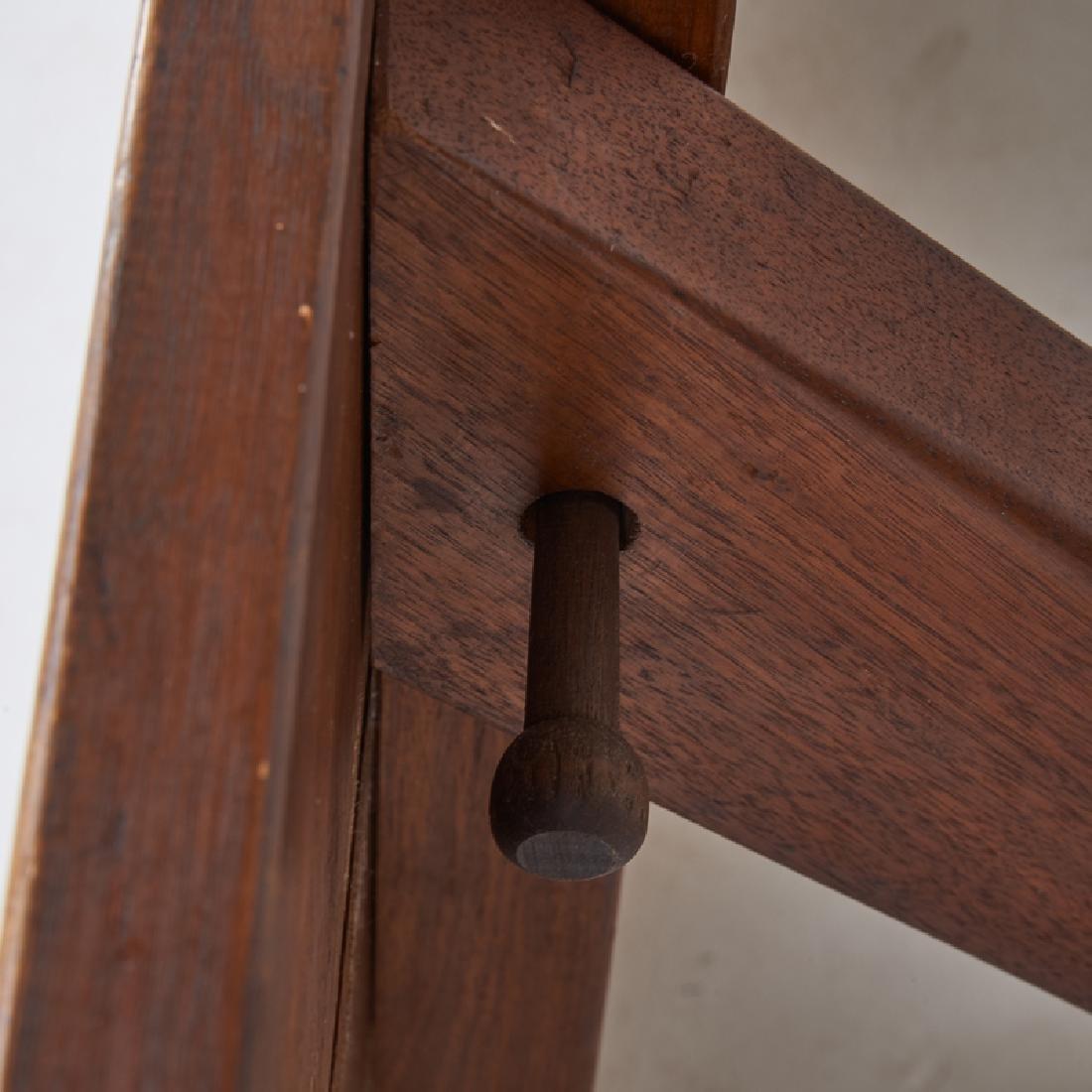 FREDERICK HARER Trestle dining table - 6