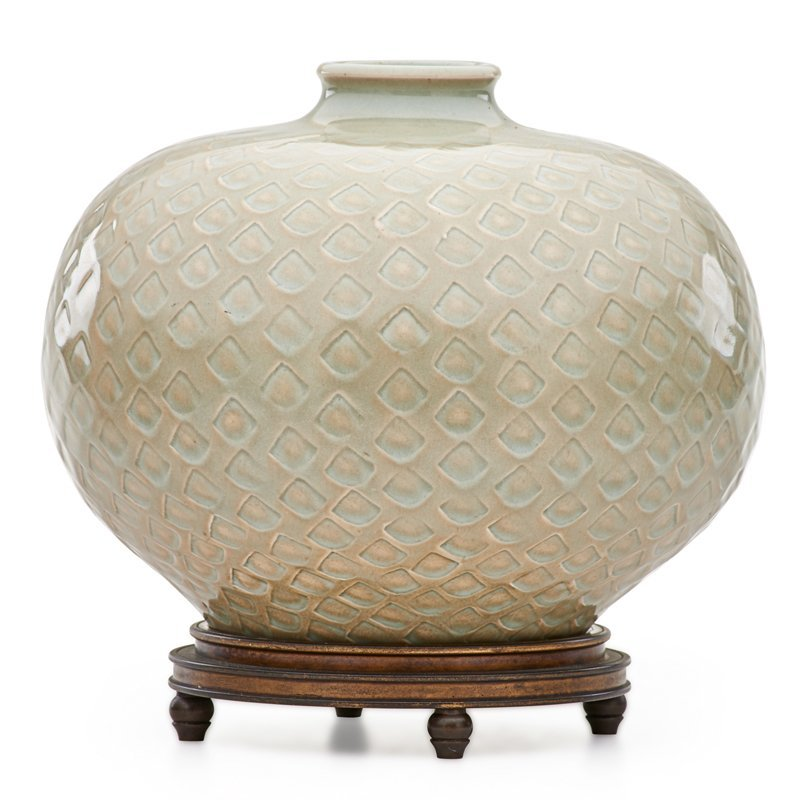 BOGELUND; ANDERSEN; ROYAL COPENHAGEN Vase w/ base - 2