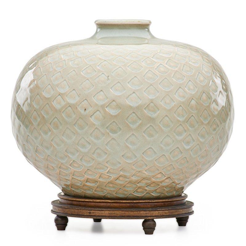 BOGELUND; ANDERSEN; ROYAL COPENHAGEN Vase w/ base - 3