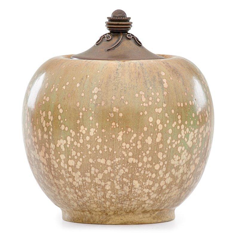 NORDSTROM; ANDERSEN; ROYAL COPENHAGEN Lidded vase - 2