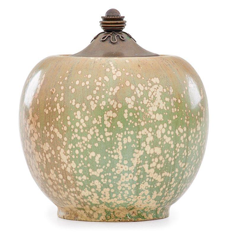 NORDSTROM; ANDERSEN; ROYAL COPENHAGEN Lidded vase - 3