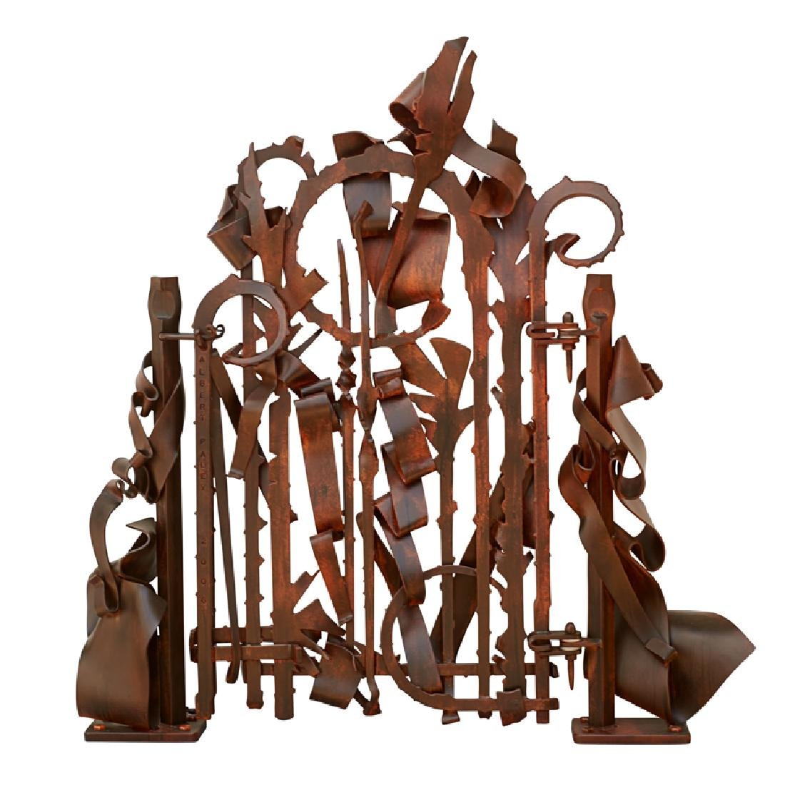 ALBERT PALEY Untitled (Garden Gate)