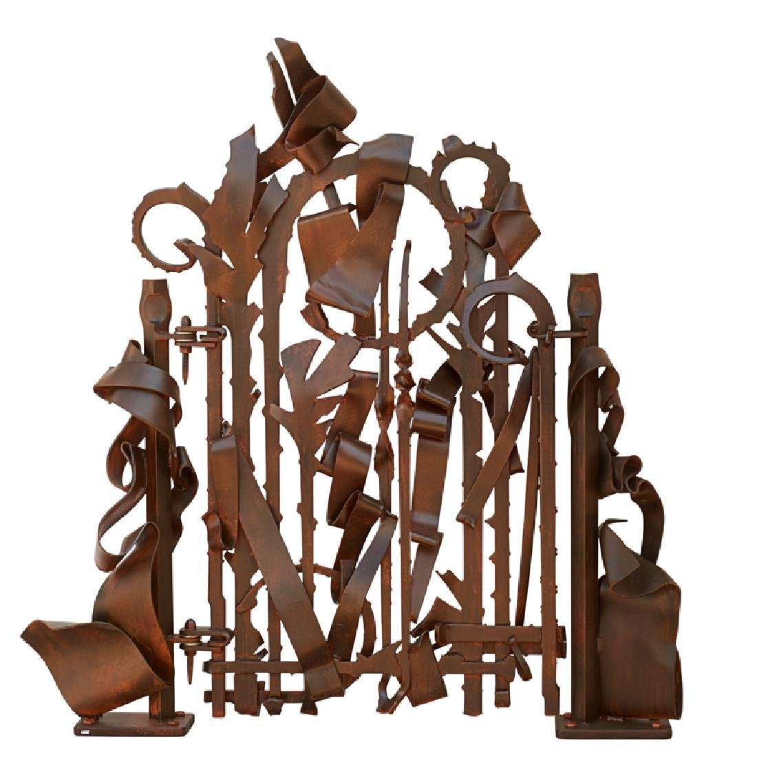 ALBERT PALEY Untitled (Garden Gate) - 2