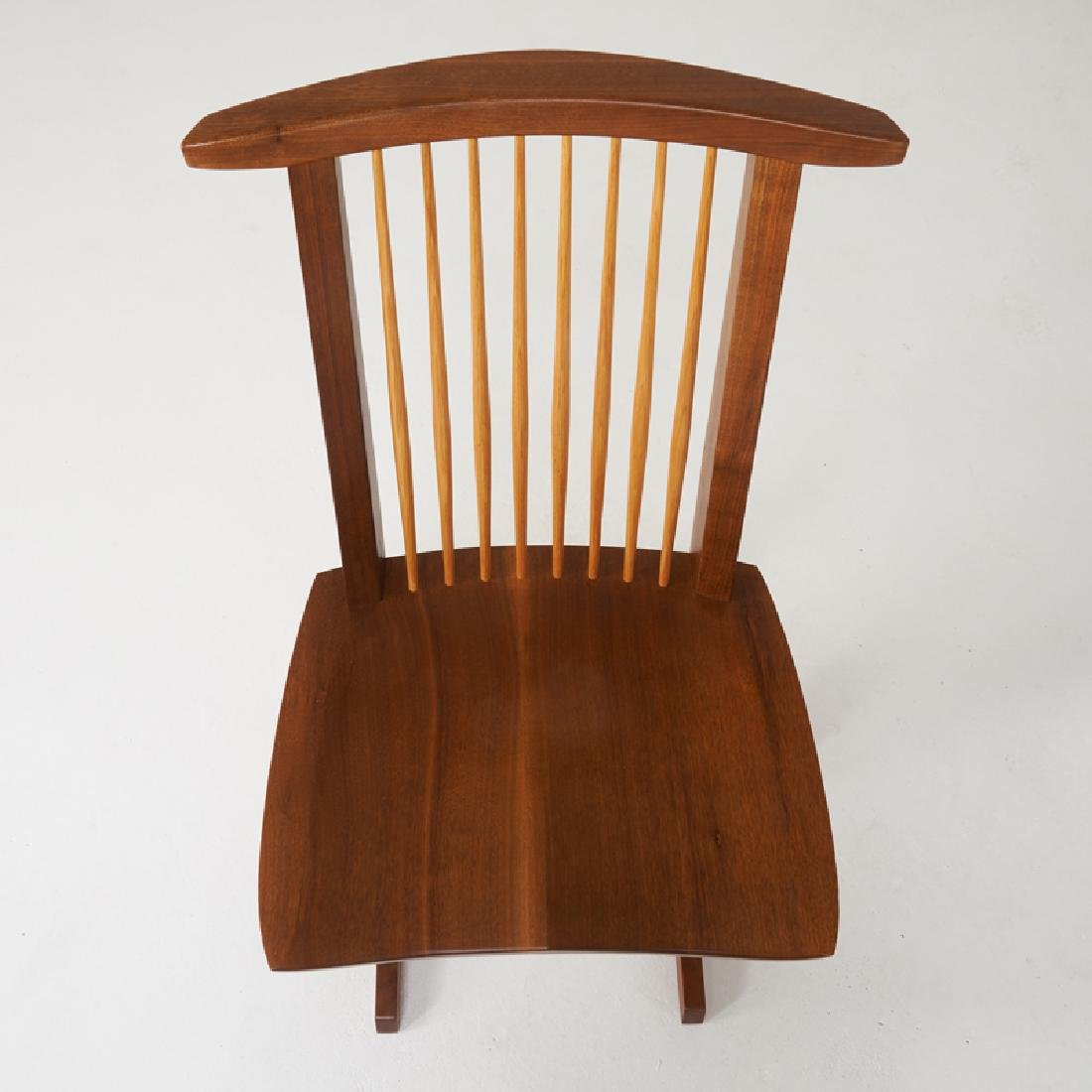 MIRA NAKASHIMA Set of eight Conoid chairs - 2