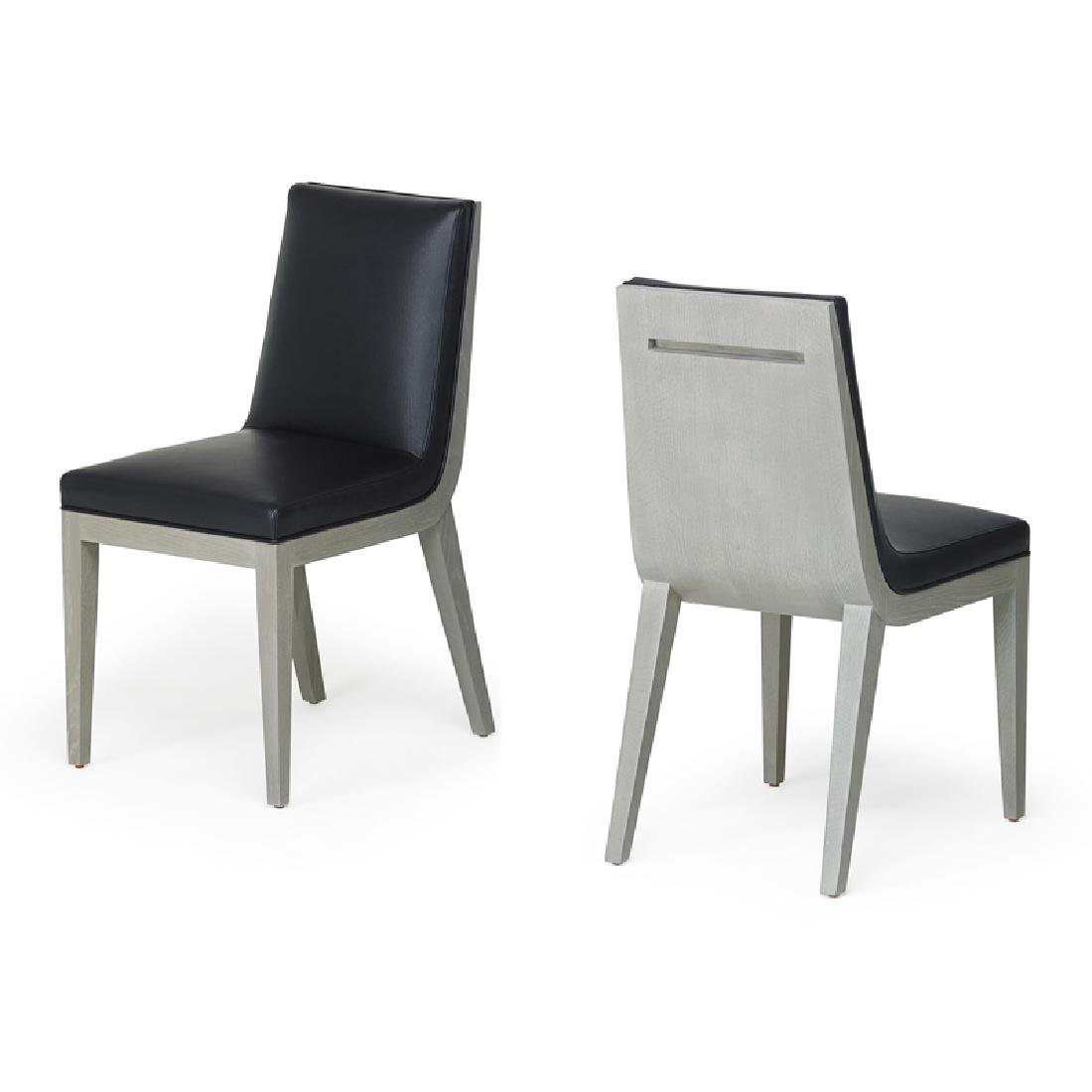 PATRICK NAGGAR; RALPH PUCCI Pair of side chairs
