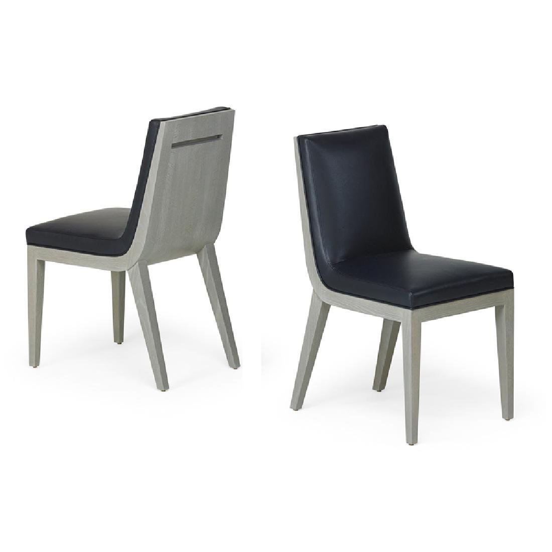 PATRICK NAGGAR; RALPH PUCCI Pair of side chairs - 2