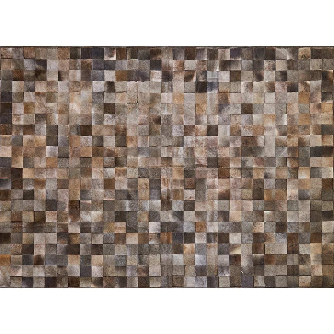 MARC PHILLIPS Massive cowhide rug