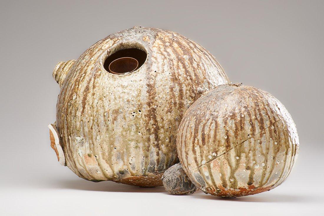 SHIRO TSUJIMURA Large double gourd vase - 10