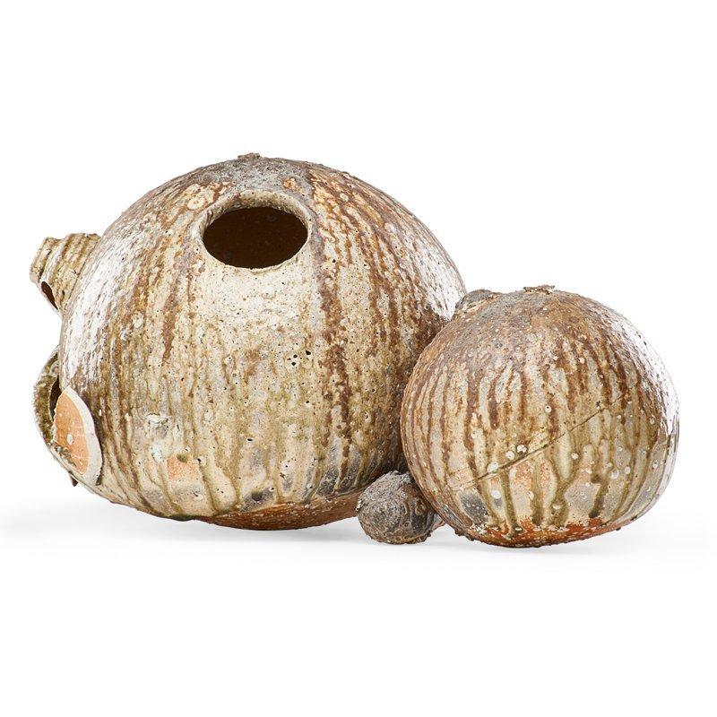 SHIRO TSUJIMURA Large double gourd vase
