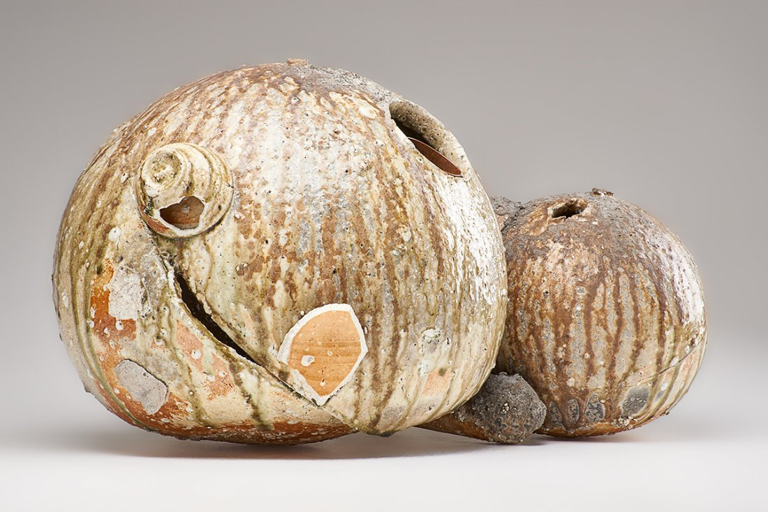 SHIRO TSUJIMURA Large double gourd vase - 8