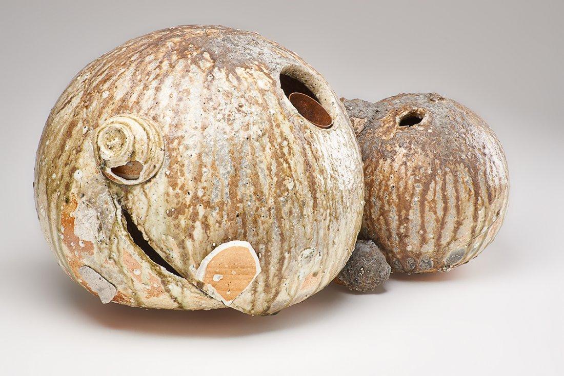 SHIRO TSUJIMURA Large double gourd vase - 9