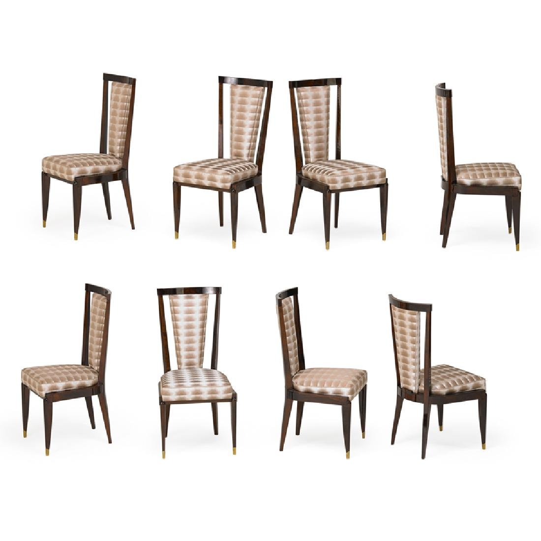 STYLE OF EMILE RUHLMANN DINING CHAIRS