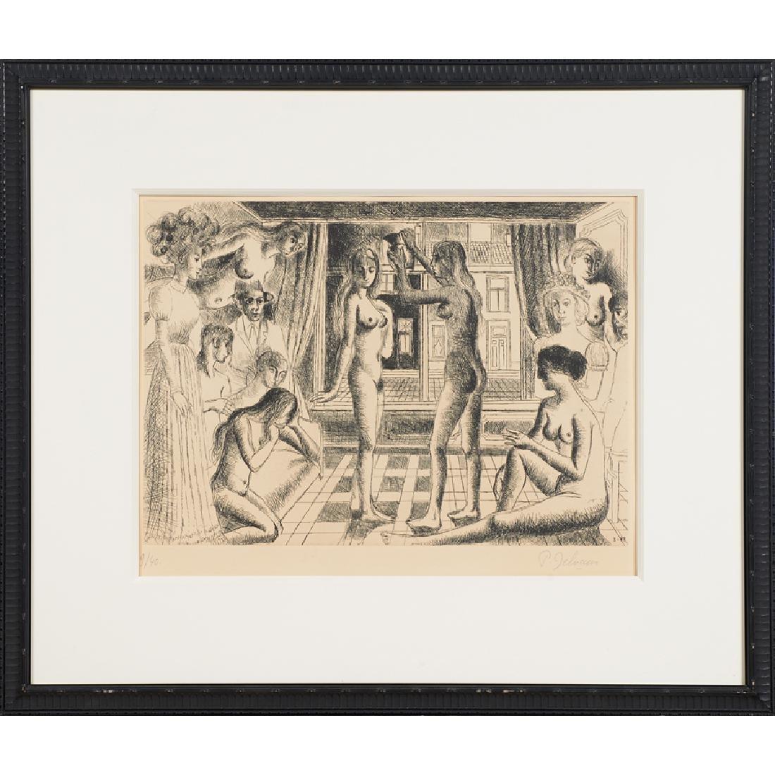 Paul Delvaux (Belgian, 1897-1994) - 2