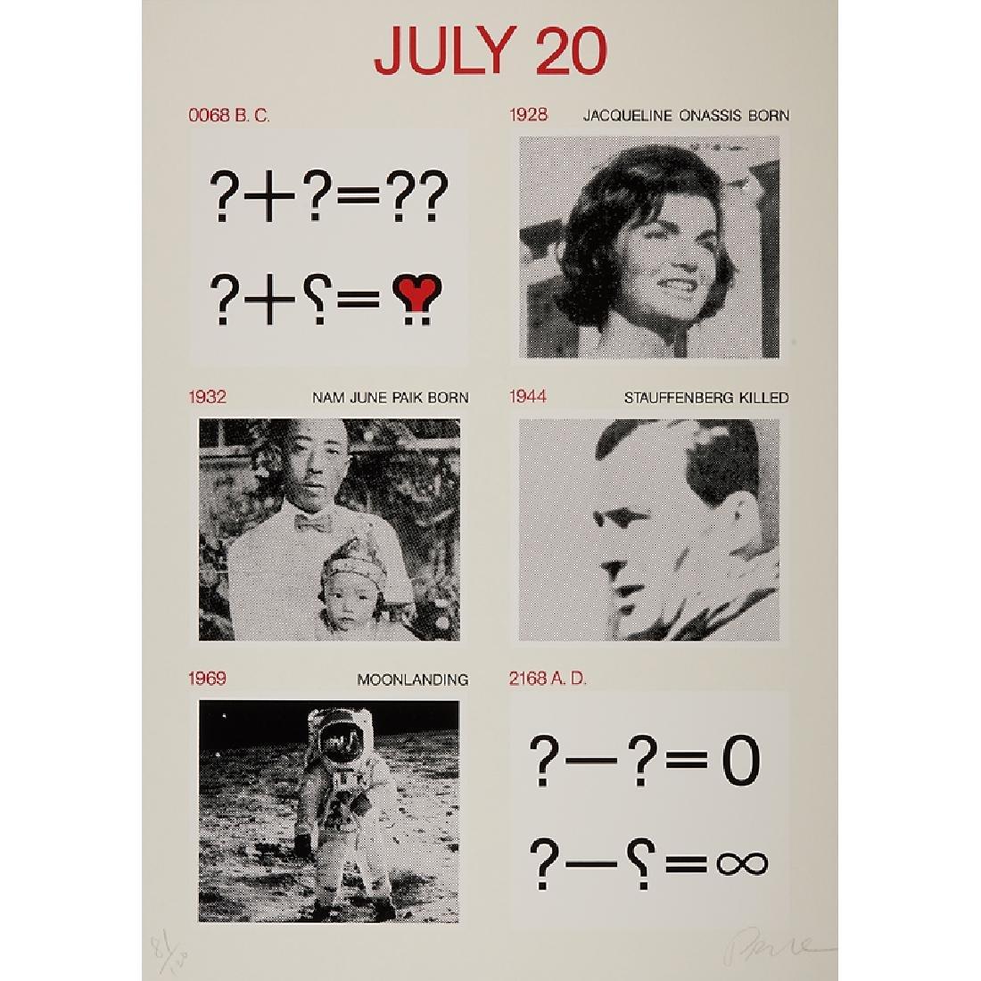 Nam June Paik (American/Korean, 1932-2006)