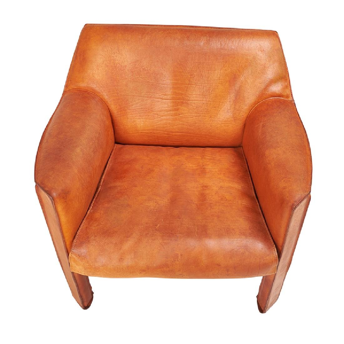 MARIO BELLINI Cab love seat, pr. of lounge chairs - 3