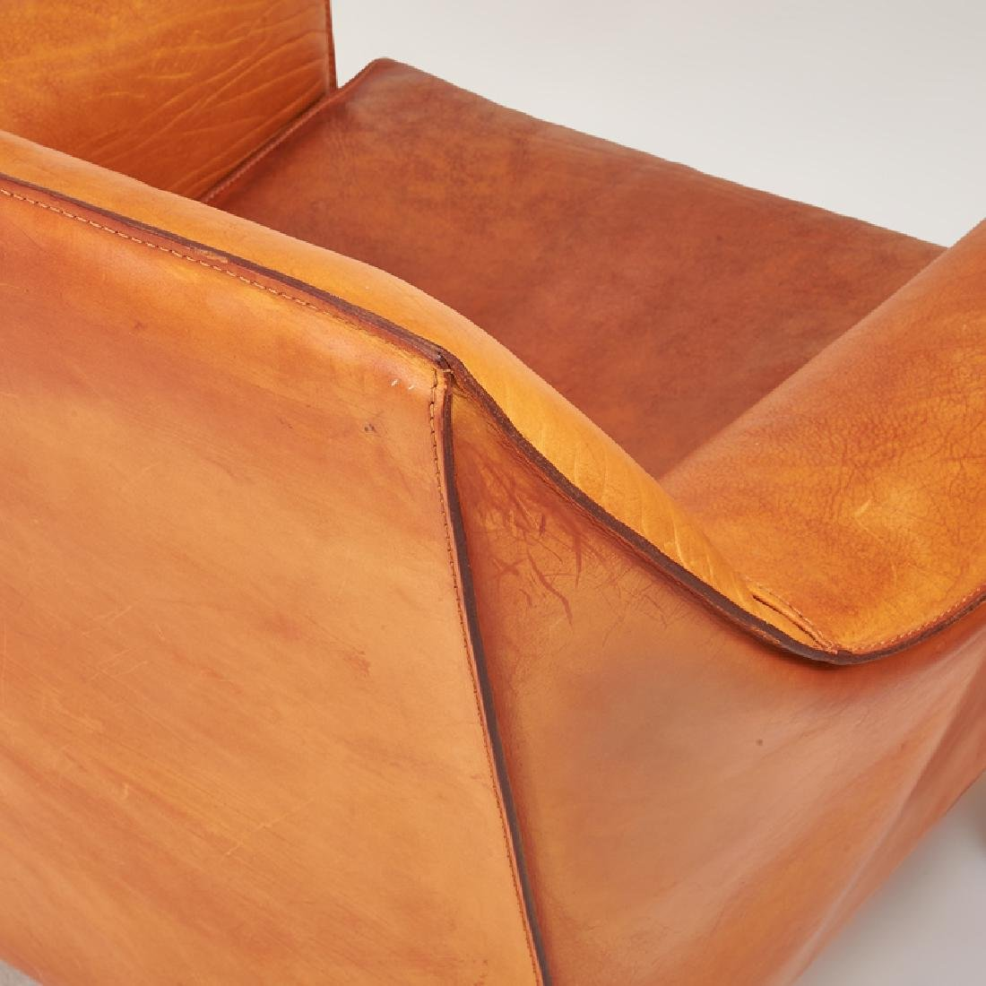 MARIO BELLINI Cab love seat, pr. of lounge chairs - 4