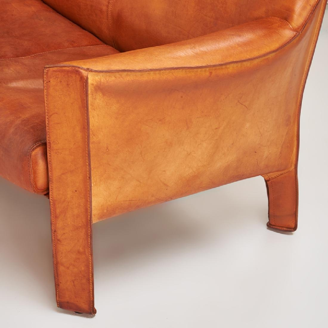 MARIO BELLINI Cab love seat, pr. of lounge chairs - 5