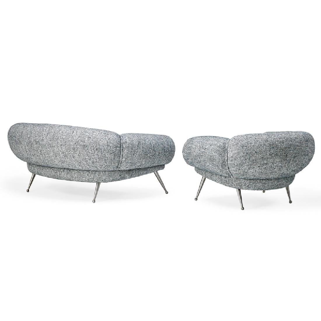STYLE OF ILLUM WIKKELSO Sofa and lounge chair - 2