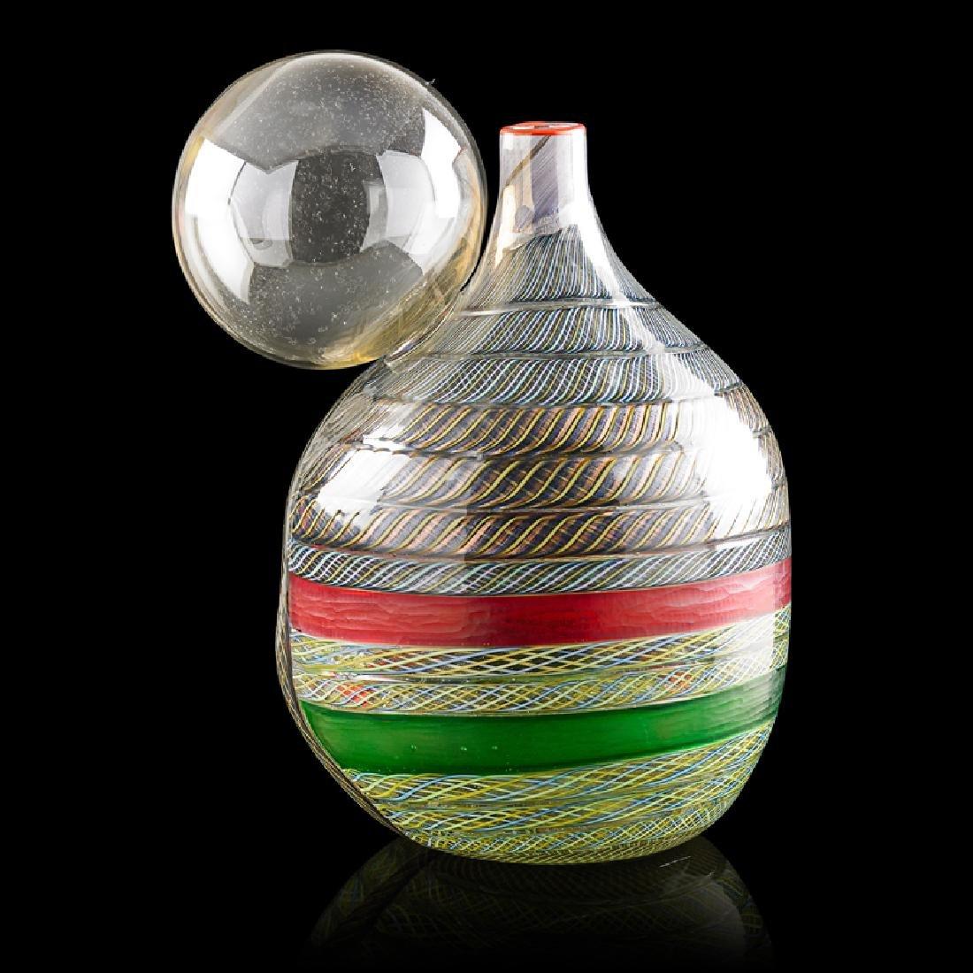 YOICHI OHIRA Vase with drawing - 2