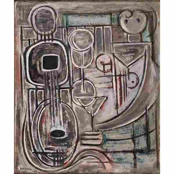 Jean Xceron (American/Greek, 1890-1967)