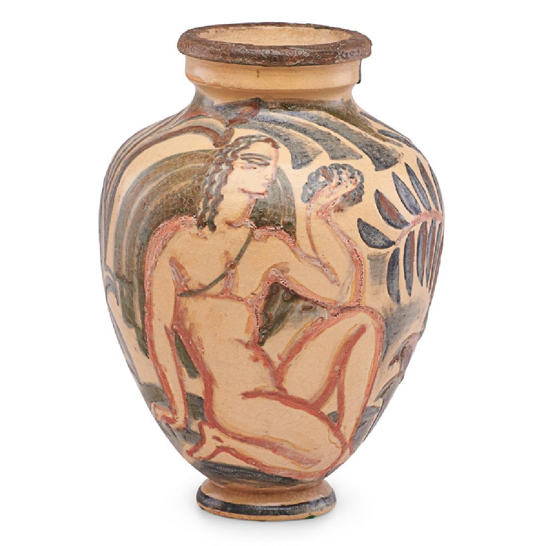 RENE BUTHAUD Vase with nudes - 3
