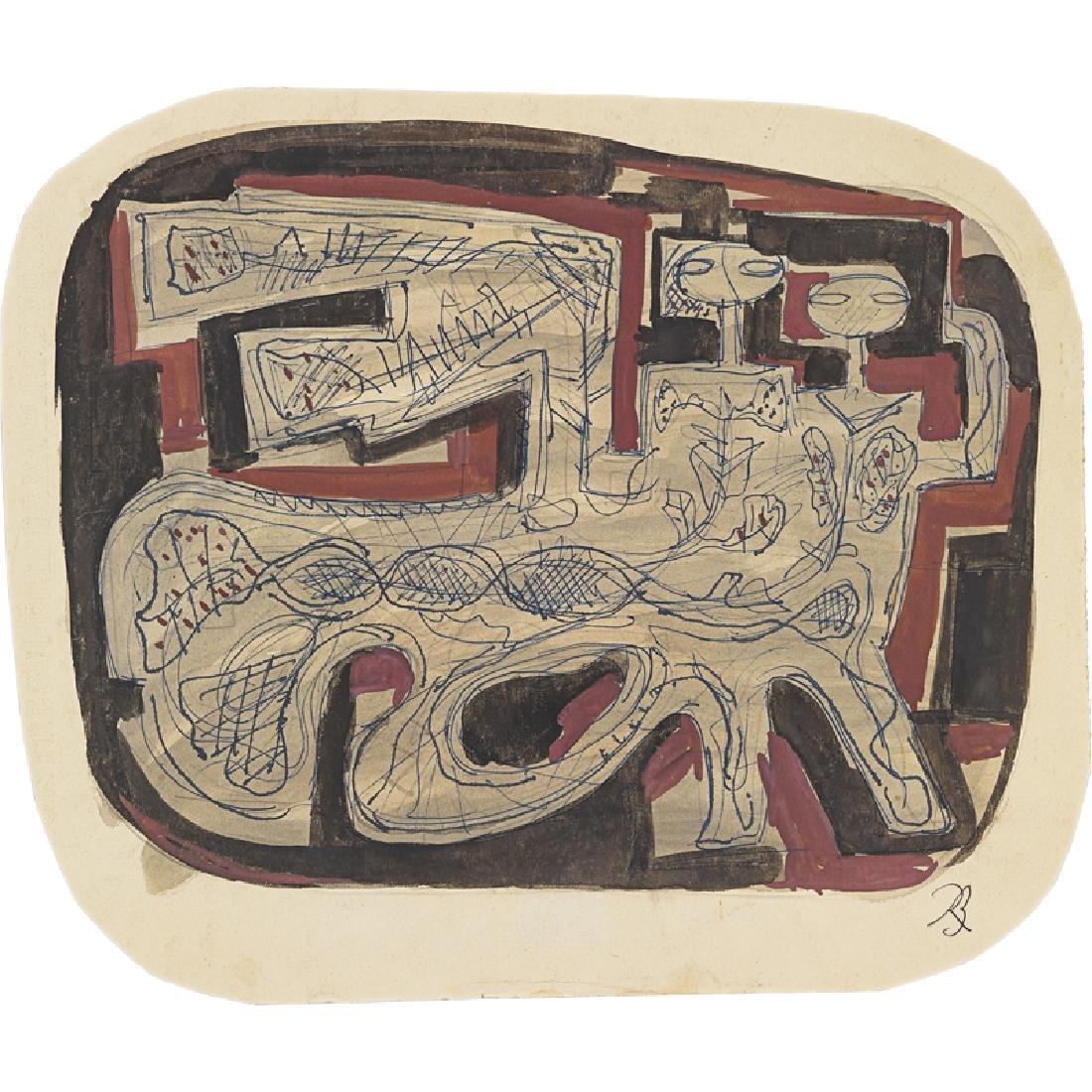 RENE BUTHAUD Portfolio of thirty studies - 6