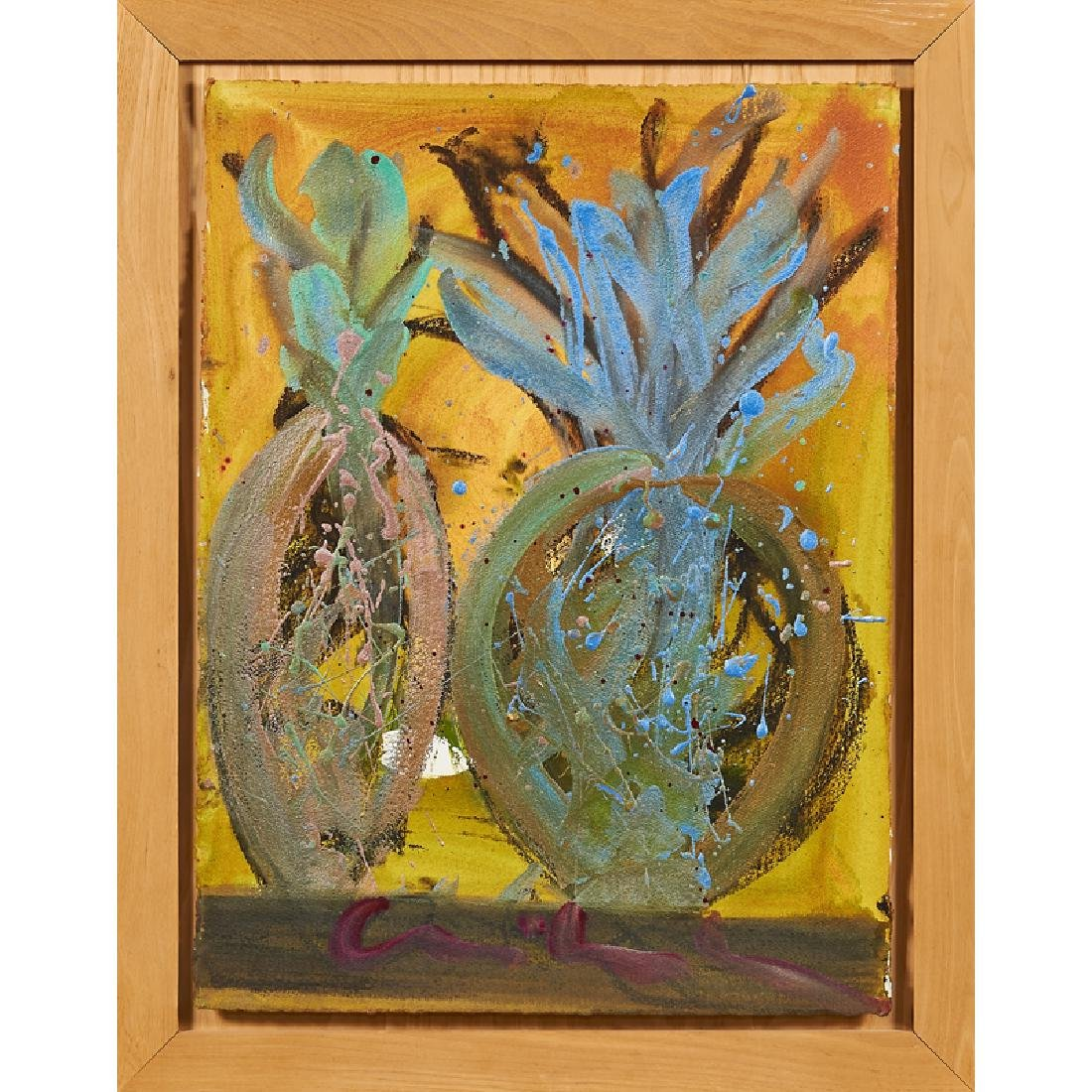 DALE CHIHULY Untitled painting