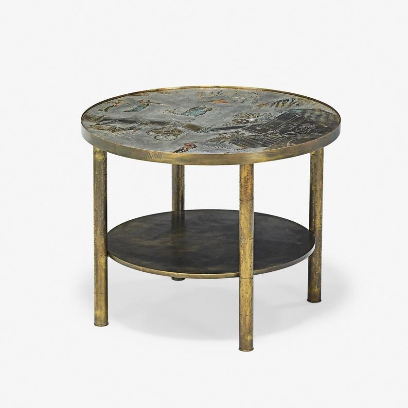 PHILIP & KELVIN LaVERNE Chan side table