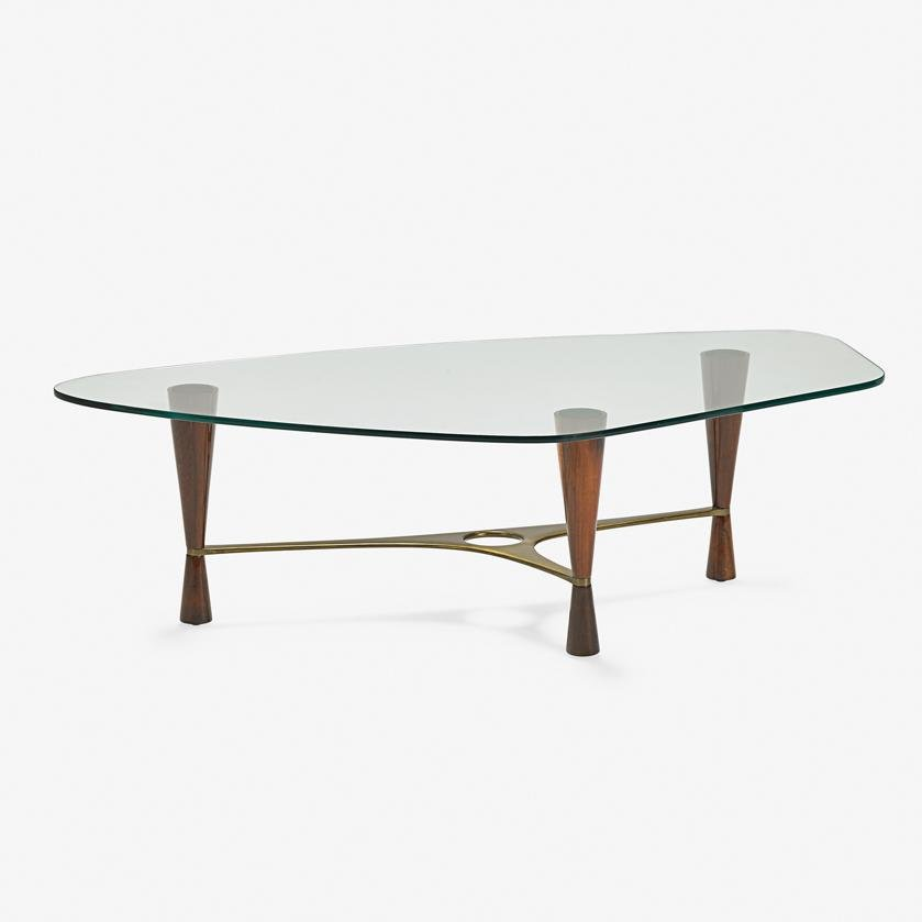 EDWARD WORMLEY  DUNBAR Rare coffee table