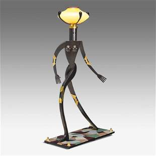 DAN DAILEY Fine floor lamp