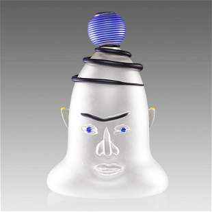 DAN DAILEY Character Head sculpture