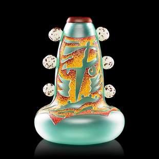 DAN DAILEY Face Vase