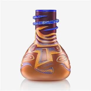 DAN DAILEY Large Face Vase