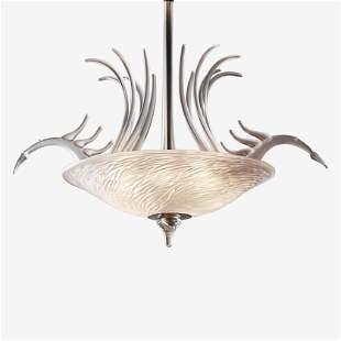 DAN DAILEY; WATERFORD Birds in Flight chandelier
