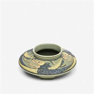 Frederick Rhead for Roseville, Della Robbia bowl