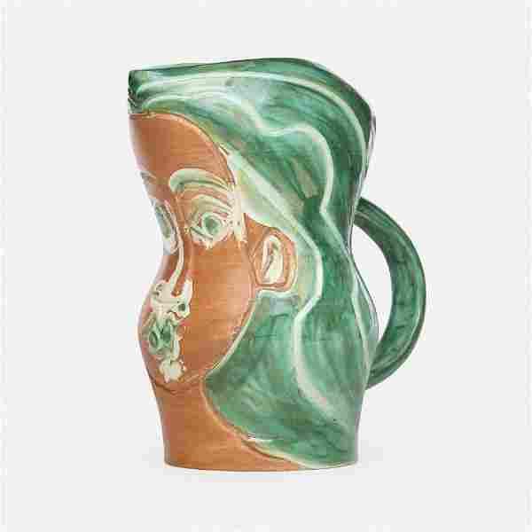 Pablo Picasso, Visage de Femme pitcher