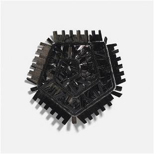 Sergey Jivetin brooch from Time Structures series