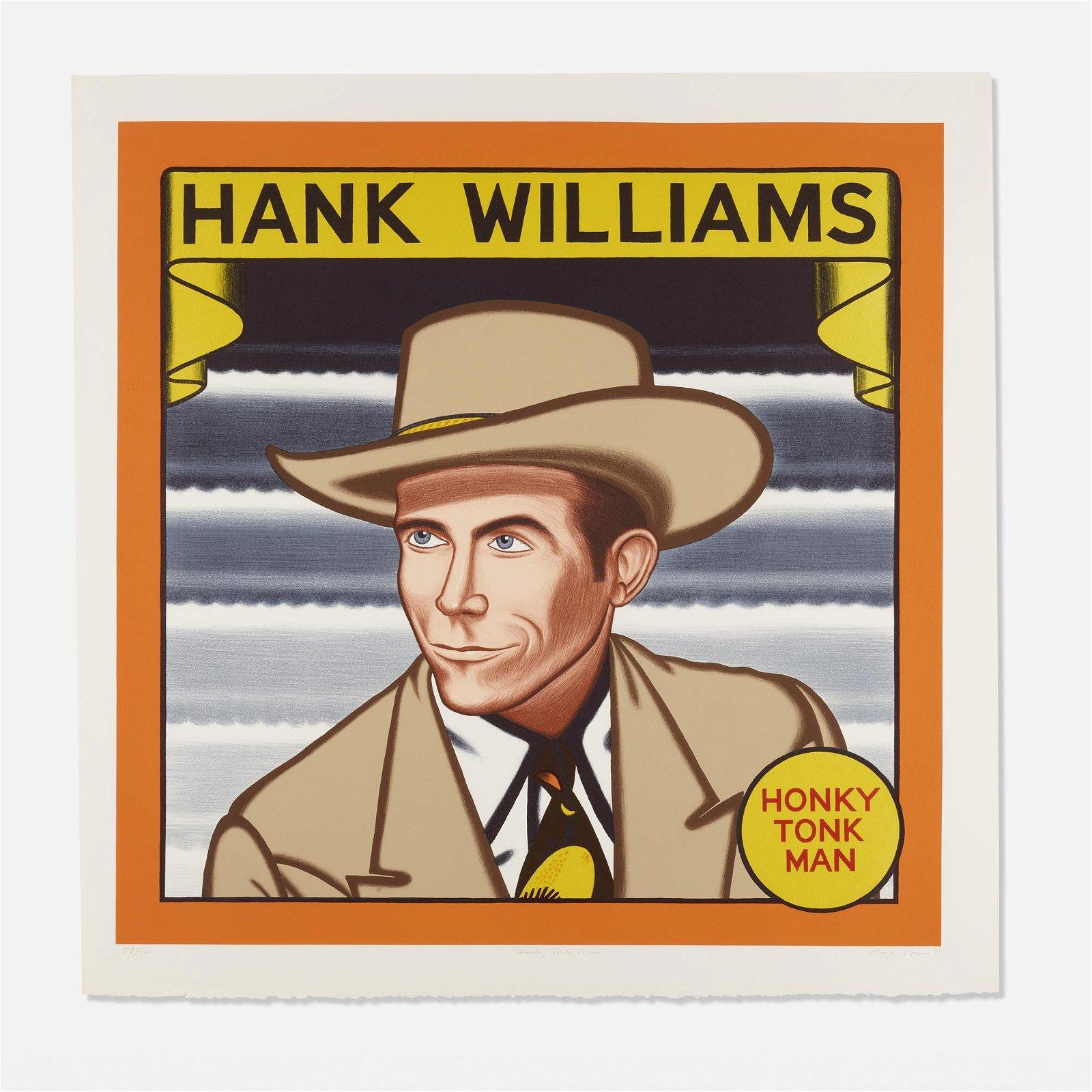 Roger Brown, Hank Williams, Honky Tonk Man